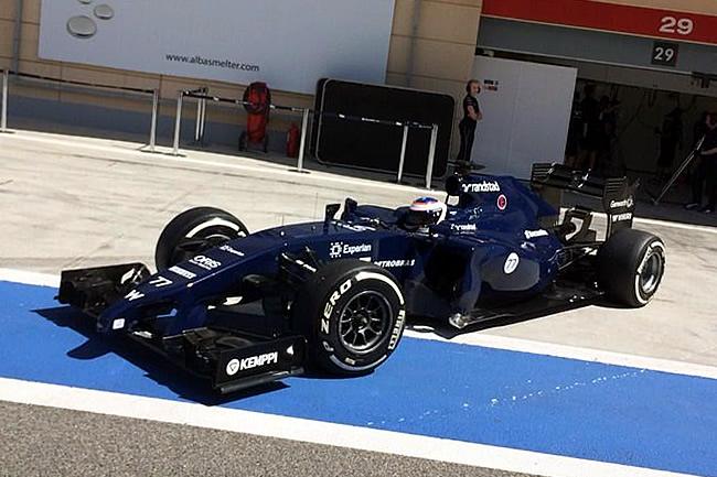 Valtteri Bottas - Williams - Test 2 Bahréin - 2014 - día 8 (4)