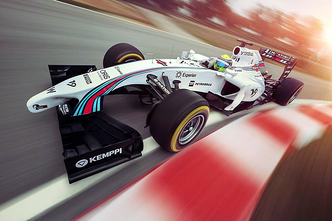 Williams  Martini - 1 - 2014