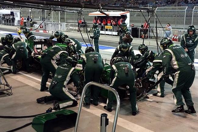 Kamui Kobayashi - Caterham - Gran Premio de Bahréin - Carrera