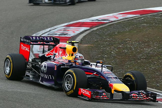 Daniel Ricciardo - Red Bull Racing - Gran Premio de China 2014 - Carrera