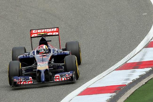 Daniil Kvyat - Toro Rosso - Gran Premio de China 2014 - Carrera