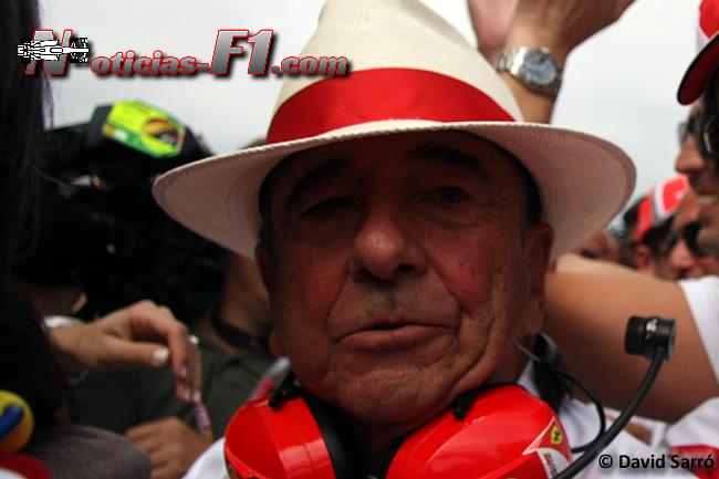 Emilio Botín - F1 - Santander - Scuderia Ferrari - David Sarró