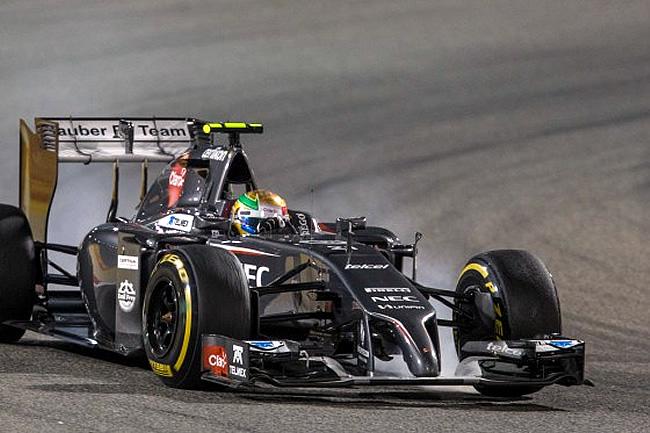 Esteban Gutiérrez - Gran Premio de Bahréin - 2014 - Sakhir - Carrera