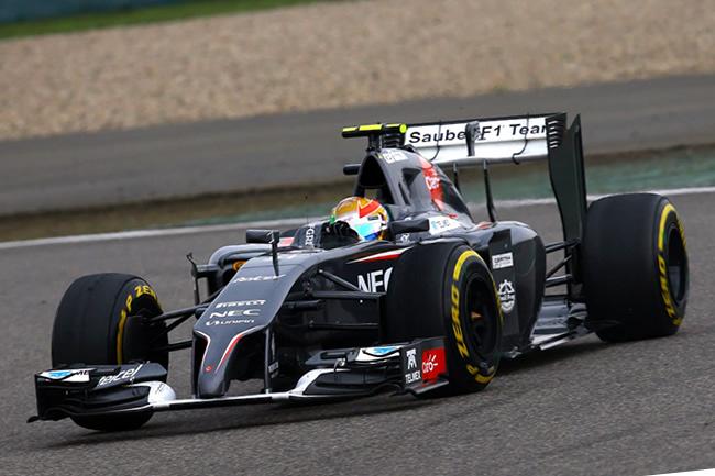 Esteban Gutiérrez - Sauber - Gran Premio de China 2014 - Carrera