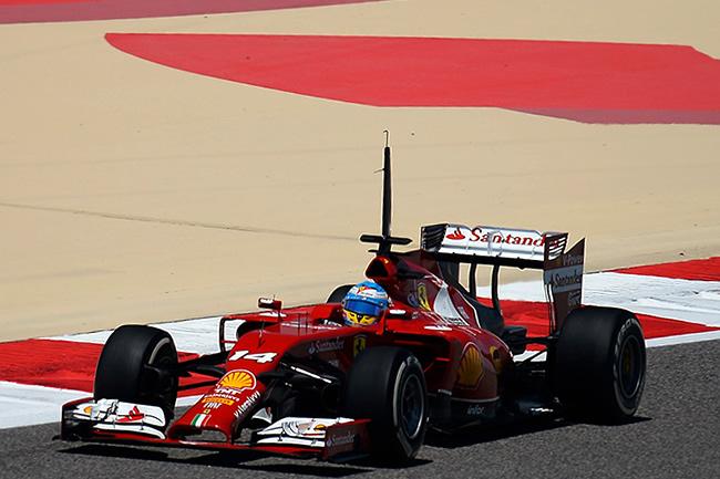 Fernando Alonso - Scuderia Ferrari - Test Bahréin - Tempora 2014 - Día 1