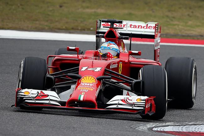 Fernando Alonso - Scuderia Ferrari - Gran Premio de China 2014 - Entrenamientos
