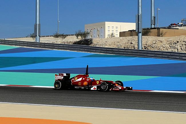 Fernando Alonso - Scuderia Ferrari - Test Bahréin - Temporada 2014 - Día 2