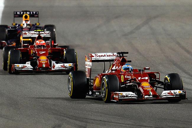 Fernando Alonso - Kimi Raikkonen - Scuderia Ferrari - Gran Premio de Bahréin - Sakhir - 2014 - Balance