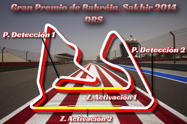 Gran Premio de Bahréin - Sakhir 2014 - DRS
