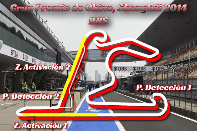 Gran Premio de China - DRS - Temporada 2014