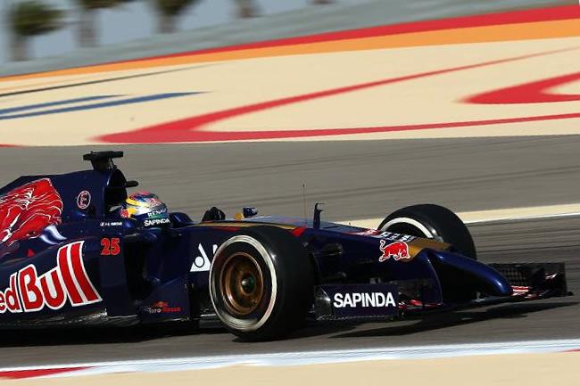 Jean-Eric Vergne - Toro Rosso - Gran Premio de Bahréin - Sakhir - Viernes