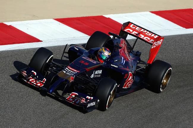 Jean-Eric Vergne - Toro Rosso - Test Bahréin - Día 2