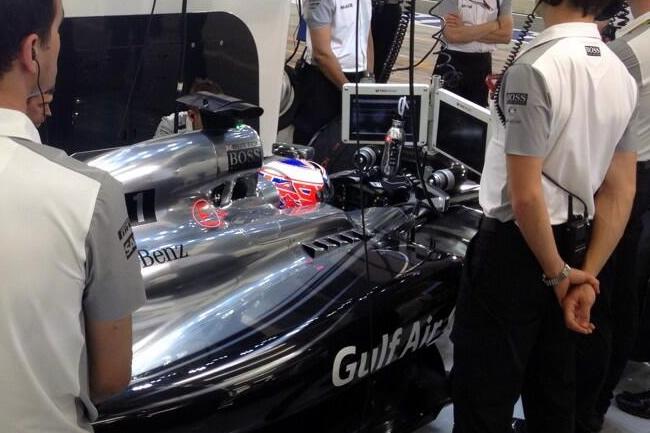 Jenson Button - Gran Premio de Bahréin - Sakhir  2014 - Calificación