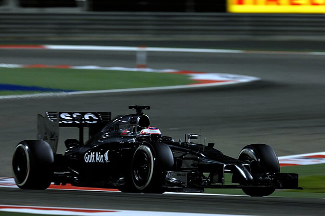 Jenson Button - McLaren - Gran Premio de Bahréin - Skahir 2014 - Balance