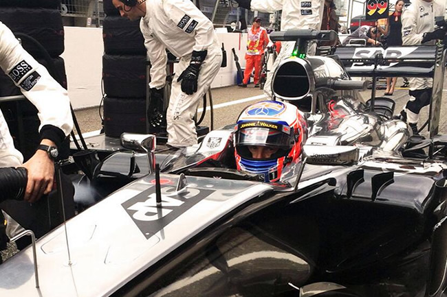 Jenson Button - McLaren - Gran Premio de China 2014 - Carrera