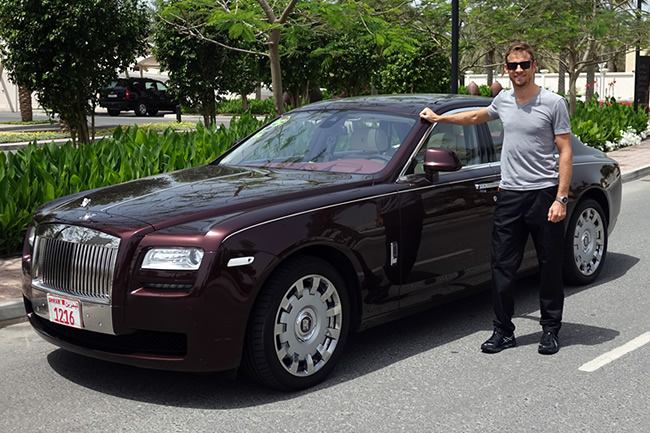 Jenson Button - Rolls Royce - Temporada 2014 F1