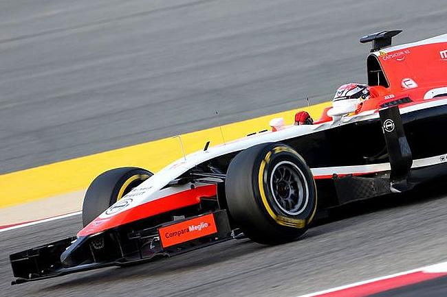 Jules Bianchi - Marussia - Test Bahréin - temporada - 2014 - Día 2