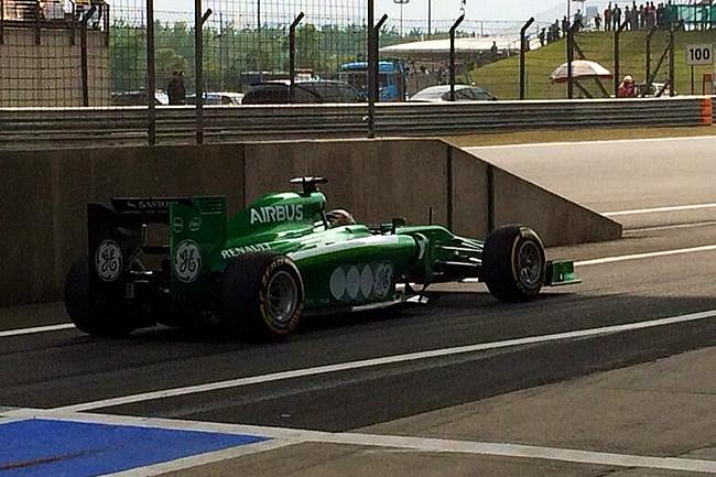 Kamui Kobayashi - Caterham - Gran Premio de China 2014 - Carrera