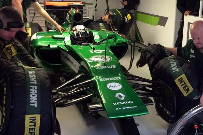 Kamui Kobayashi - Caterham - Gran Premio de China 2014 - Calificación