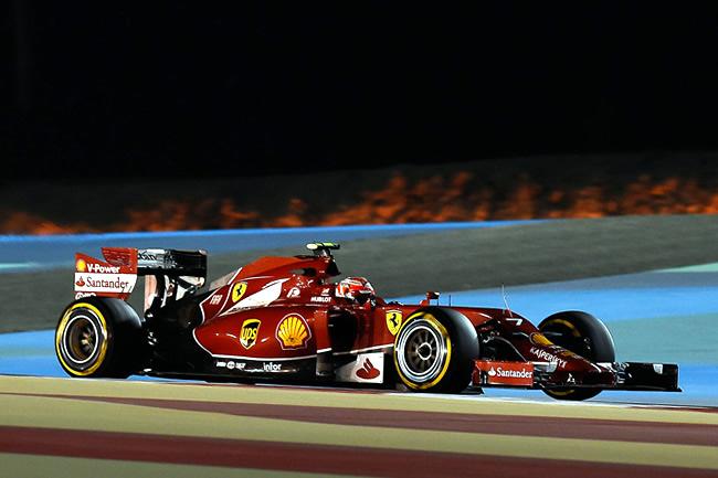 Kimi Raikkonen - Gran Premio de Bahréin - Sakhir 2014 - Calificación