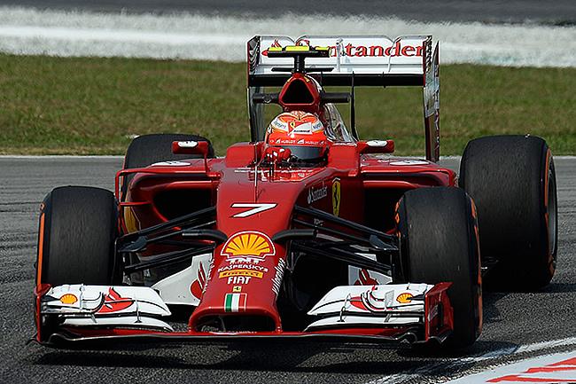 Kimi Raikkonen - Scuderia Ferrari 2014