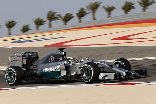 Lewis Hamilton - Mercedes - Gran Premio de Bahréin - Sakhir 2014 - Viernes