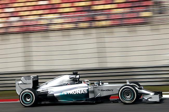 Lewis Hamilton - Mercedes AMG F1- Gran Premio de China 2014 - Entrenamientos