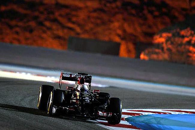 Lotus - Gran Premio de Bahréin - Sakhir 2014  Calificación