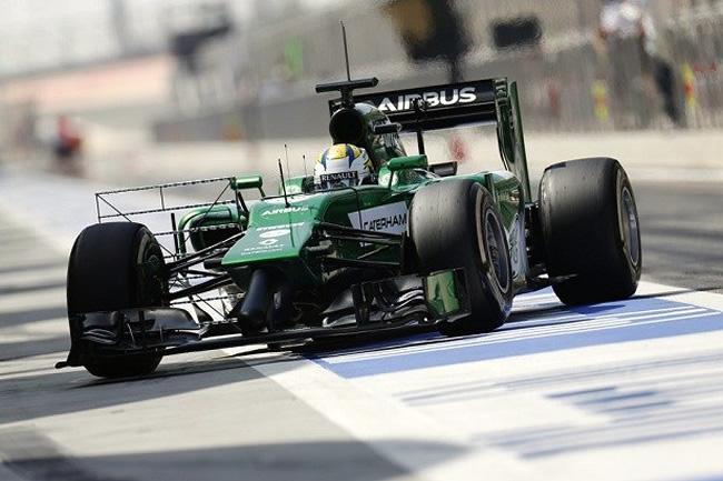 Marcus Ericsson - Caterham - Día 2 Test Bahréin