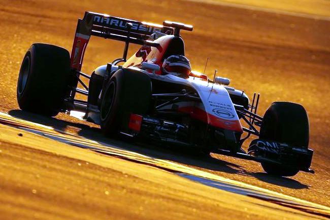 Marussia - Test en Temporada 2014 - Bahréin