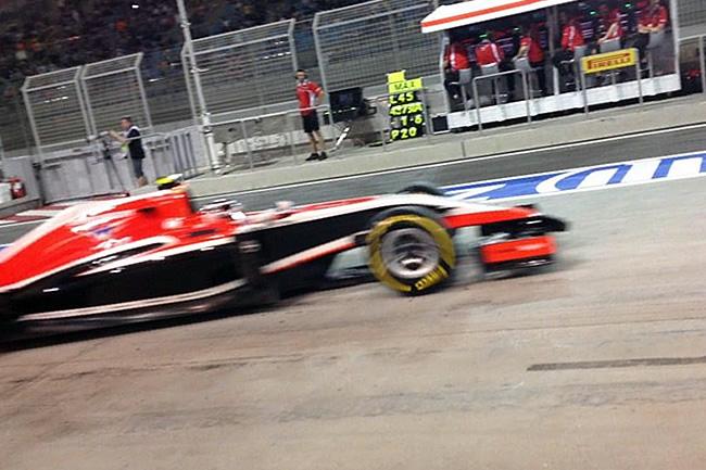 Max Chilton - Marussia - Gran Premio de Bahréin - Sakhir 2014 - Domingo - Balance