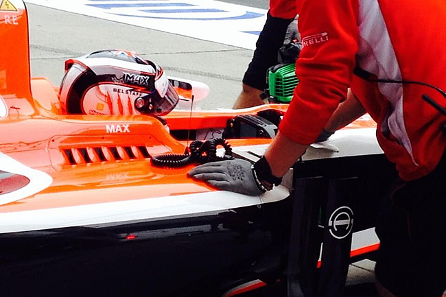 Max Chilton - Marussia - Gran Premio de China 2014 - Entrenamientos