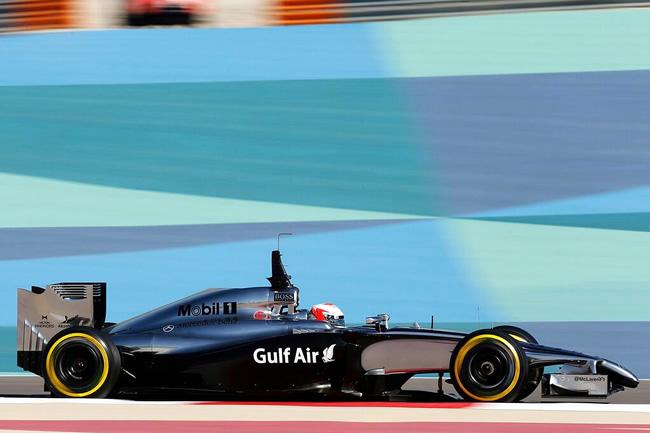Kevin Magnussen - McLaren - Test Bahréin  - Temporada 2014 - Día 1