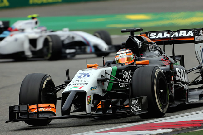 Nico Hulkenberg - Force India - Gran Premio de China 2014 - Carrera