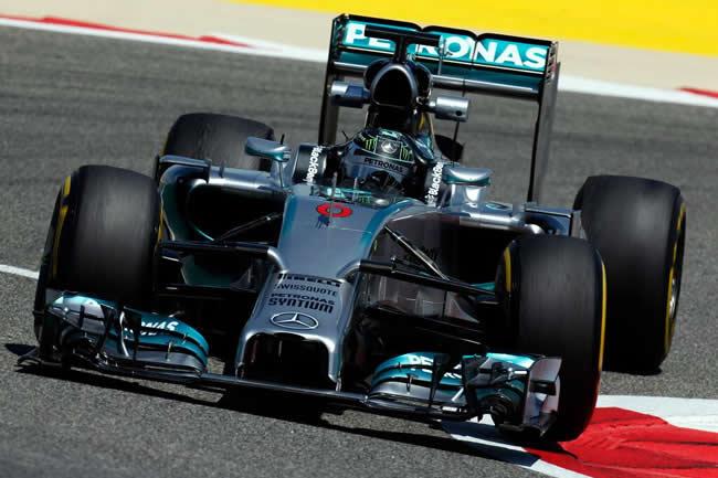 Nico Rosberg - Mercedes - Test Bahréin - Tempos 2014