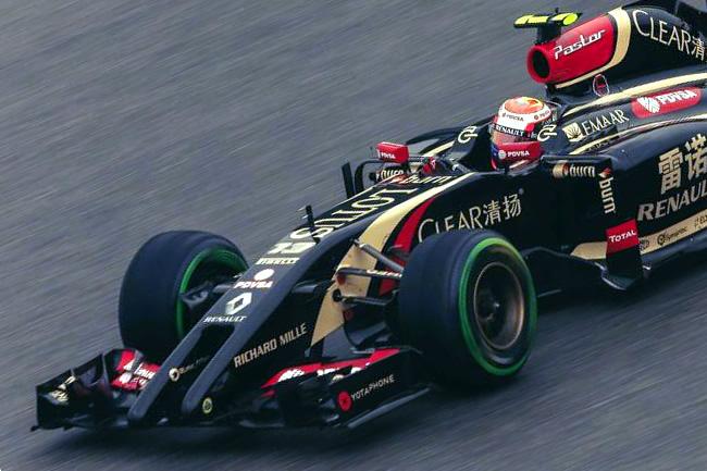 Pastor Maldonado - Lotus - Gran Premio de China 2014 - Carrera