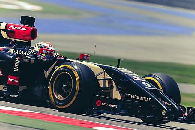 Pastor Maldonado - Lotus - Test Bahréin 2014- Día 1