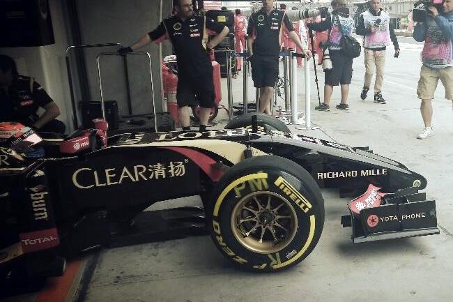 Pastor Maldonado - Lotus - Gran Premio de China 2014 - Entrenamientos