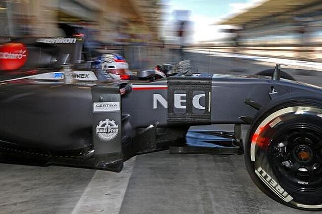 Sergey Sirotkin - Sauber - Test Temporada 2014