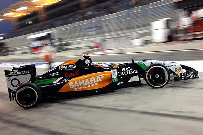 Sergio Pérez - Gran Premio de Bahréin - Sakhir - 2014