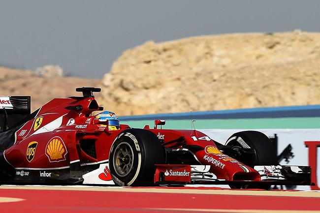 Fernando Alonso - Scuderia Ferrari - Temporada 2014 - Bahréin