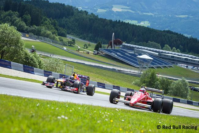 Red Bull Racing - Red Bull Ring - Evento - Sebastian Vettel - Gerhard Berger - Ferrari - Gran Premio de Austria