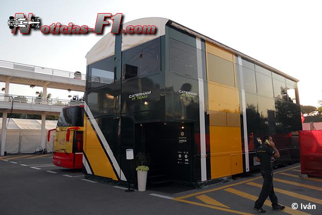 Caterham Motorhome - F1 2014 - www.noticias-f1.com