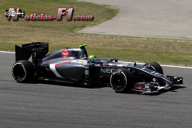 Esteban Gutiérez - Sauber - F1 2014 - www.noticias-f1.com