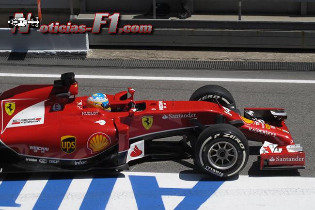 Fernando Alonso - Scuderia Ferrari - 2014 - www.noticias-f1.com
