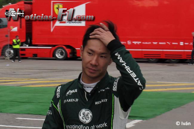 Kamui Kobayashi - Caterham - F1 2014 - www.noticias-f1.com