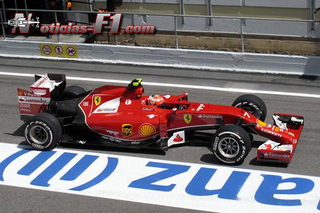 Kimi Raikkonen - Scuderia Ferrari - F1 2014 - www.noticias-f1.com