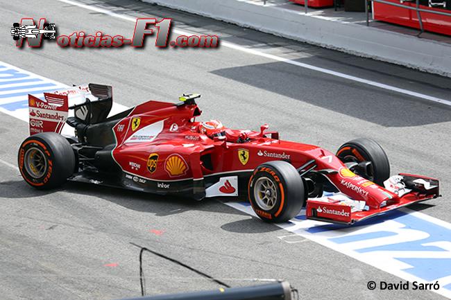 Kimi Raikkonen - Scuderia Ferrari - F1 2014 - David Sarró - www.noticias-f1.com