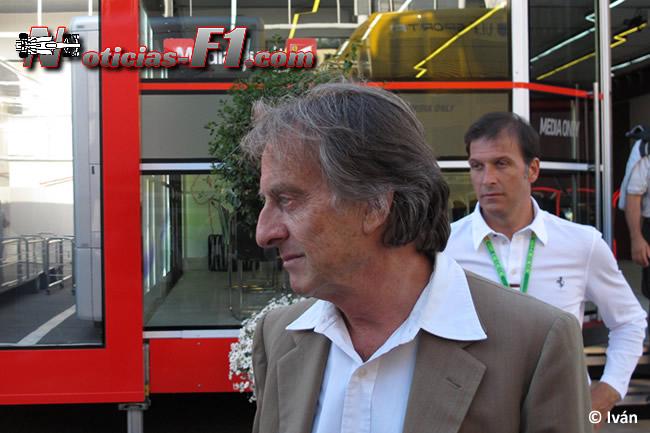 Luca di Montezemolo - Scuderia Ferrari - F1 2014 - www.noticias-f1.com