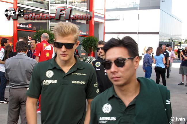 Marcus Ericsson - Kamui Kobayashi - Caterham - F1 2014 - www.noticias-f1.com